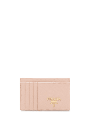 Prada Saffiano card holder - NEUTRALS