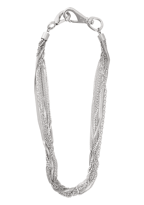 Peter Do Multi-Chain Crystal necklace - Metallic