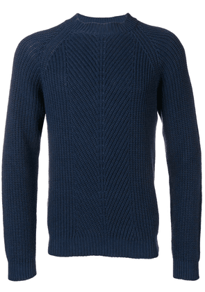 A.P.C. ribbed knit sweater - Blue