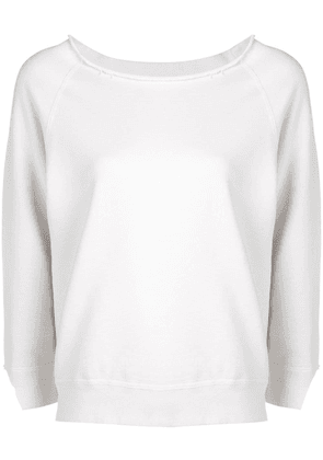 Nili Lotan fine knit sweater - White