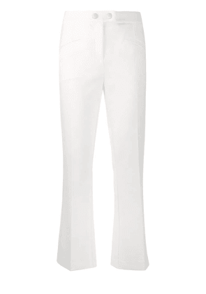 Cavalli Class cropped trousers - White