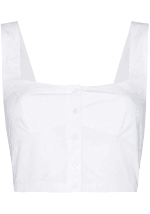 Araks Tilly cropped top - White