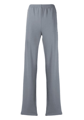 Balenciaga side stripes track pants - Grey