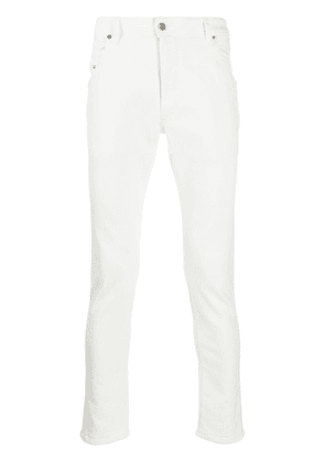 Diesel Krooley-T mid-rise tapered jeans - White
