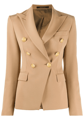 Tagliatore Jalicy double breasted blazer - NEUTRALS