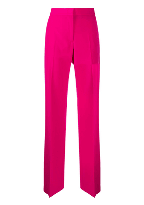MSGM high-rise straight trousers - PINK