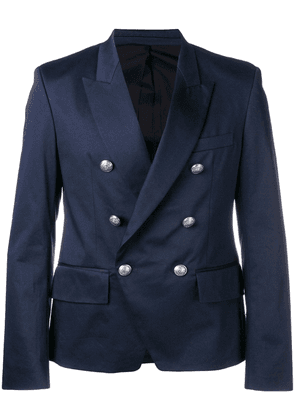 Balmain double-breasted blazer - Blue