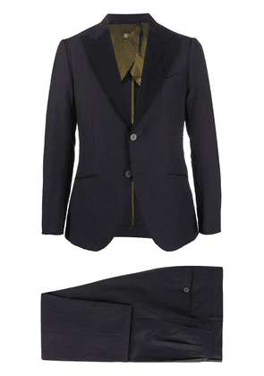 Maurizio Miri two-piece wool suit - Blue