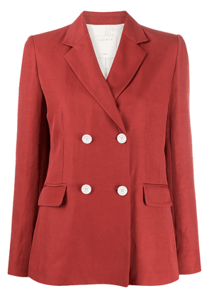 Sandro Paris double-breasted blazer - Red