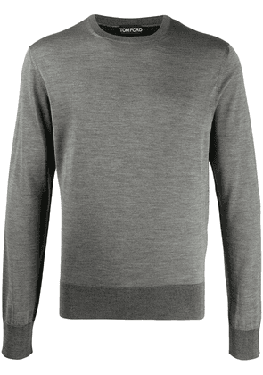 Tom Ford knitted crew neck jumper - Grey