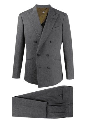 Maurizio Miri two-piece textured suit - Grey