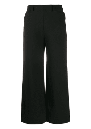 The Row Subira scuba trousers - Black