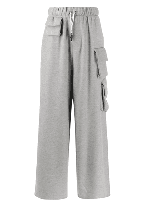 DUOltd wide leg pocketed trousers - Grey