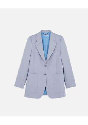 Stella McCartney Blue Amanda Tailored Jacket, Women's, Size 6