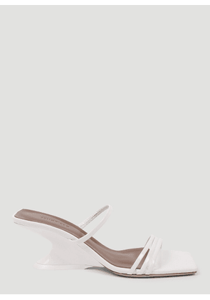 Rejina Pyo Romy Leather Sandals in White size EU - 39