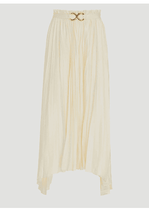 Rejina Pyo Kiera Skirt in White size UK - 08