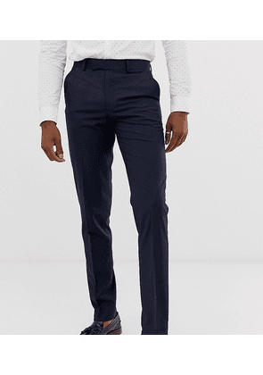 ASOS DESIGN Tall slim suit trousers in navy