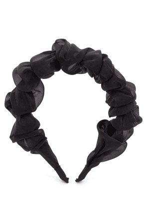 Organza Ruffled Headband