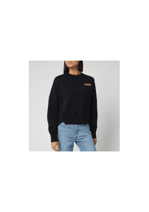 Golden Goose Deluxe Brand Women's Fureshia Sweatshirt - Black/Kimono Patch - S - Black