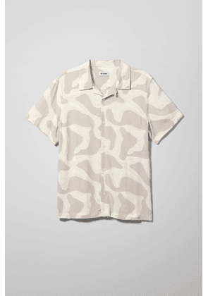 Coffee Topographic Shirt - Brown