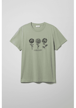 Relaxed Printed T-Shirt - Green