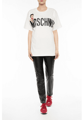 Moschino Printed T-shirt Women's Multicolor