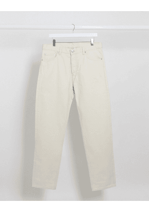 Weekday Barrel loose fit jean in cream