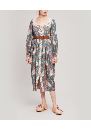 Valentine Tana Lawn' Cotton Puff Sleeve Dress