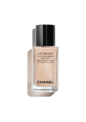 CHANEL Sheer Fluid Highlighter For A Luminous Healthy Glow - For Face And Body - Colour Pearly Glow