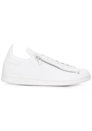 Y-3 zipped sneakers - White