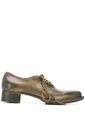 Cherevichkiotvichki pointed toe brogues - Green