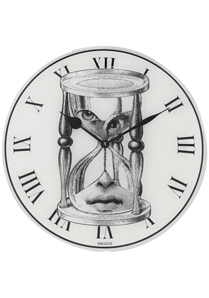 Fornasetti timer-face round wall clock - White