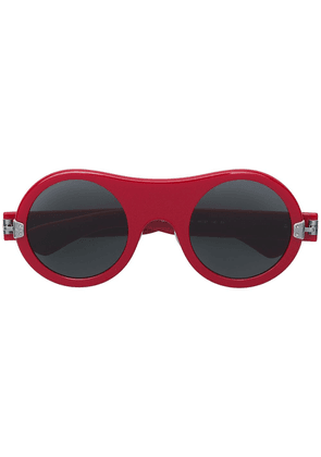 Calvin Klein 205W39nyc round sunglasses - Red