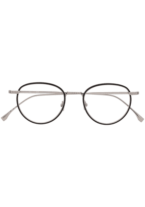 Lacoste round framed glasses - Black