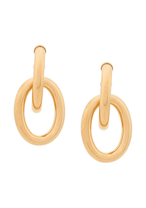 Mulberry Links Double Medium Earrings - GOLD