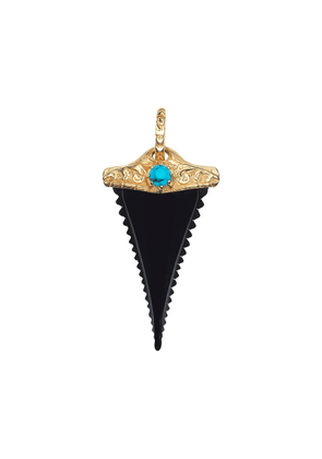 Gucci horn shark tooth charm - 9083