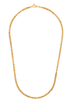 Hermina Athens gold-plated sterling silver Theodora chain necklace