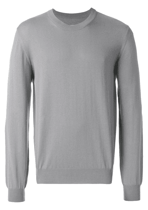 Maison Margiela classic fitted sweater - Grey