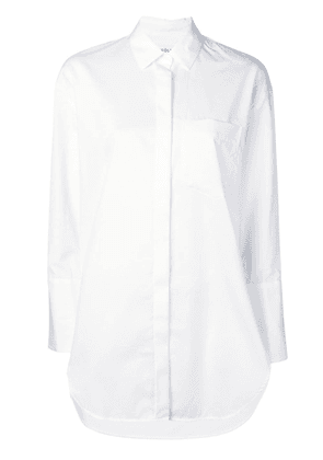 Enföld chest pocket shirt - White