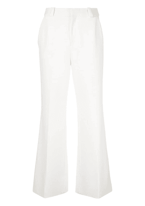 Roland Mouret Dilman flare trousers - White