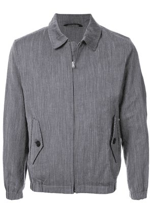 Gieves & Hawkes striped lightweight jacket - Blue