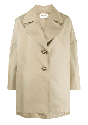 Enföld single breasted coat - NEUTRALS