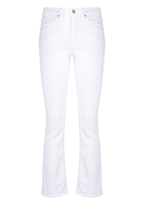 Dondup bootcut cropped jeans - White