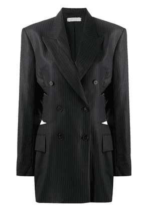 Litkovskaya pinstriped G-Jacket - Grey