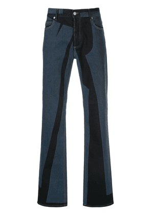 Maison Margiela panelled slim-fit jeans - Blue