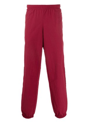 adidas logo track trousers - Red