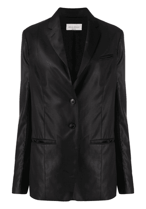NELLS NELSON matte-finish blazer - Black