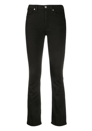 Dondup cropped straight leg jeans - Black