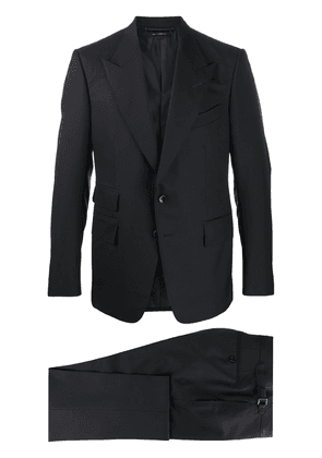 Tom Ford single-breasted two-piece suit - Blue
