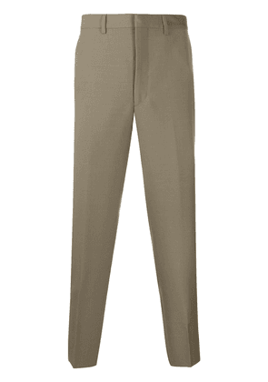 Prada tailored tapered trousers - Brown